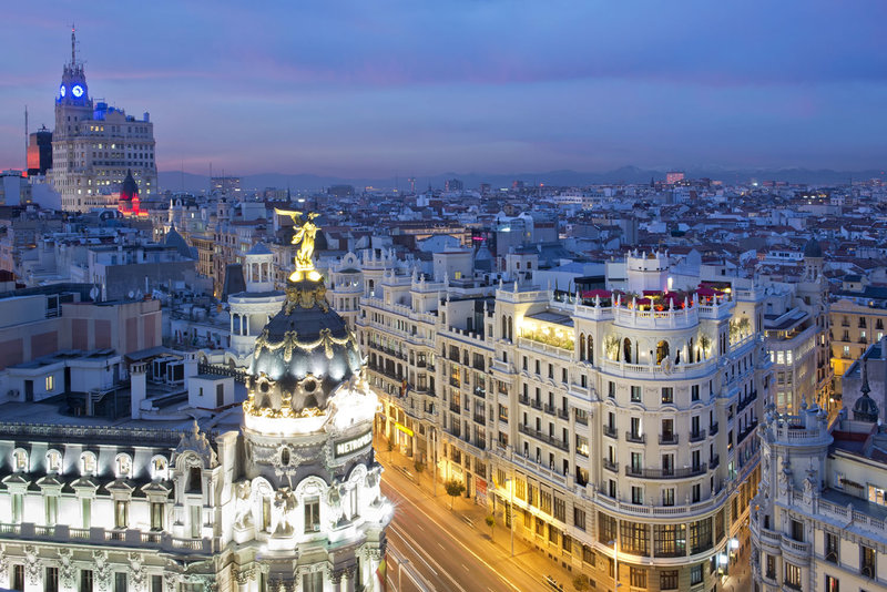 A drink with a view: the best rooftops bars in Madrid